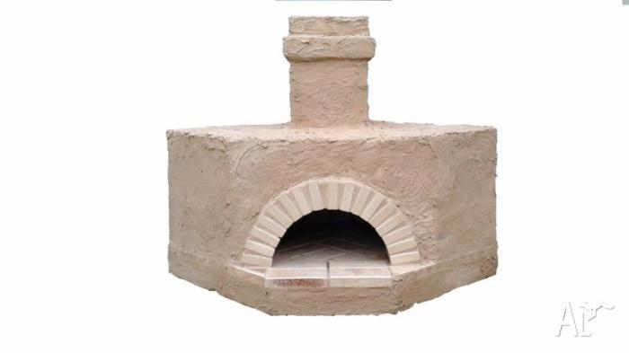 PIZZA OVEN KIT. WOOD FIRE. GENUINE ITALIAN STYLE. BBQ