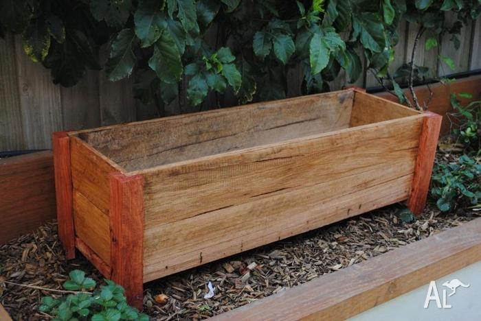 Planter Boxes Timber Wood Wooden Outdoor Herb For Sale In