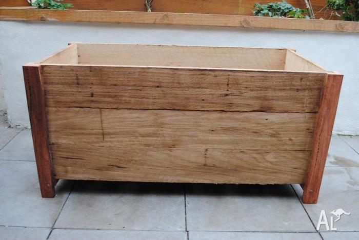 Planter Boxes Timber Wood Wooden Outdoor Herb Raised