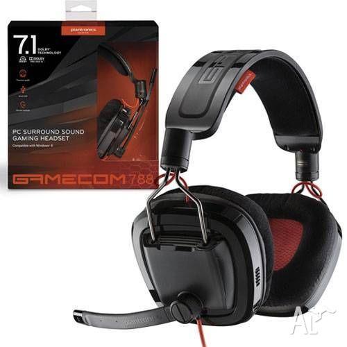 Plantronics 788 7.1 surround sound gaming headset