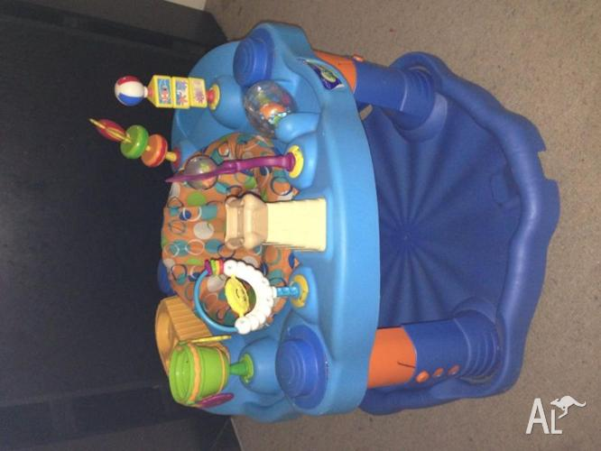 Play Gym bounce WET or DRY