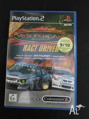 Playstation 2 Game V8 Supercars Australia Race Driver For Sale In Beecroft New South Wales Classified Australialisted Com