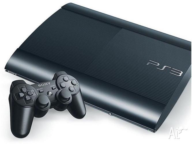 Playstation 3 500gb slim + games