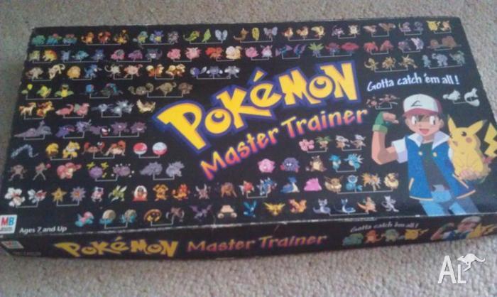 Pokemon Trainer Board Game