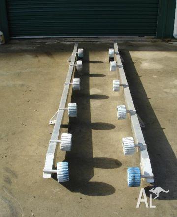 Pontoon Tinny Roller System - Second Hand