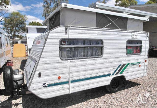 New Baby Bushtracker Pops Up  Caravancampingsalescomau