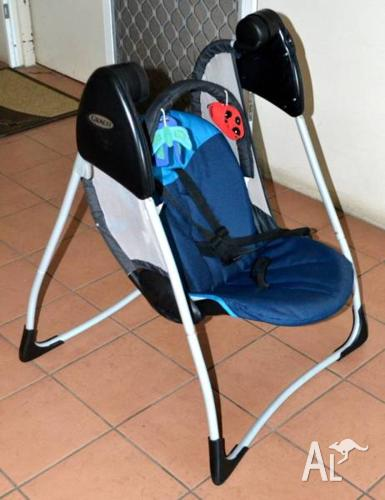 PORTABLE BABY SWING/SEAT - GRACO Model #12201CEE_JJ