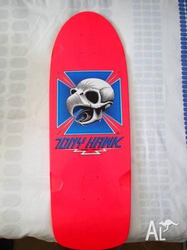 Powell Peralta Tony Hawk Hot Pink Deck Santa Cruz