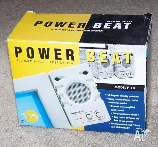 Power Beat Multimedia Speaker System