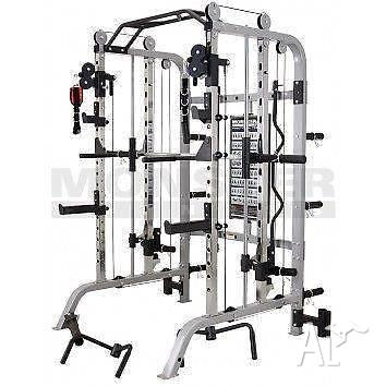 Power Rack, Smith Machine, Functional Trainer