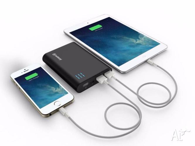 Powerful 10400mAh Powerbank for Apple iPhone, iPad,