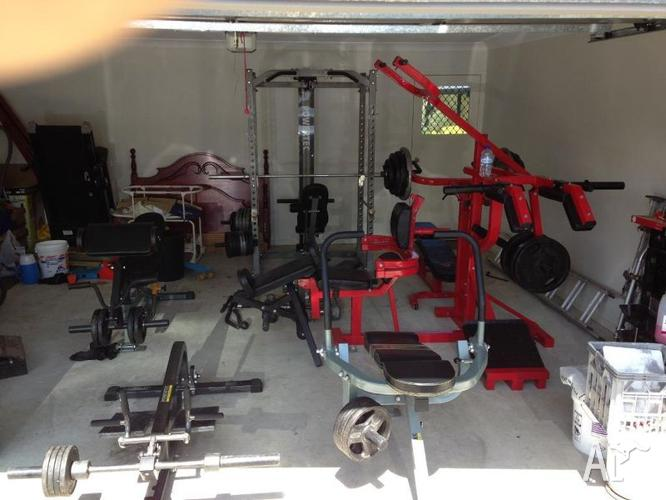 Powertec multi gym and rage cage for sale in augustine
