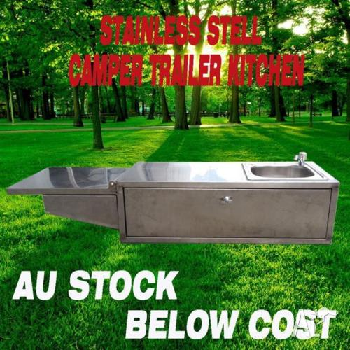 PRE-SALE! Camper Caravan Trailer Kitchen Outdoor Portable