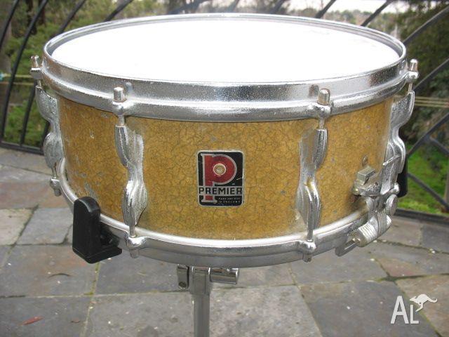 Vintage Premier Snare Drum 22