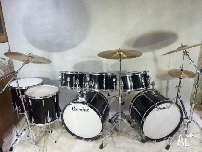 premier 60 39 s 70 39 s vintage keith moon 8pce kit w snare for sale in doncaster east victoria. Black Bedroom Furniture Sets. Home Design Ideas