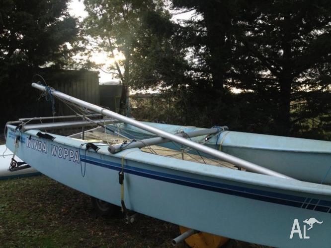 Prindle 16 foot catamaran for Sale in MOUNT MACEDON, Victoria