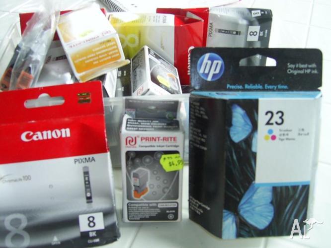 Printer cartridges - various types