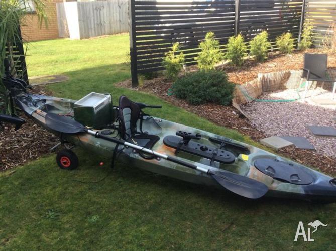 Pro Dace Angler Fishing Kayak 3.6me