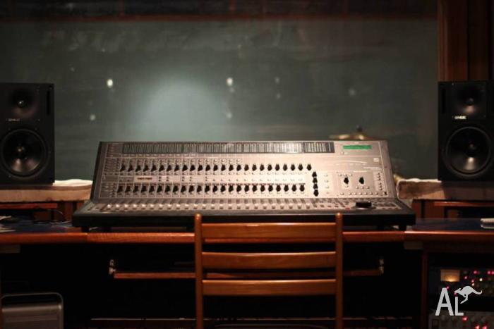Pro Tools recording equipment