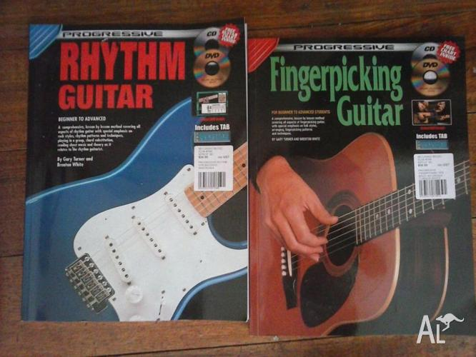 Progressive Rhythm Guitar and Progressive Fingerpicking