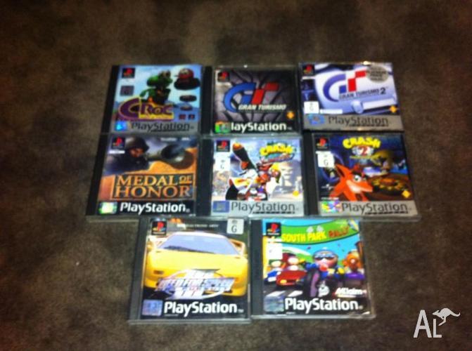 PS1 (Playstation 1) Games