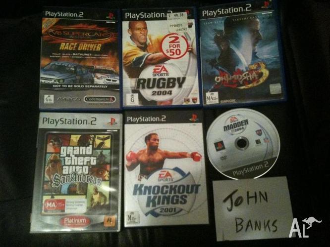 PS2, Playstation 2, Xbox, Mega drive, Snes, Sega Saturn