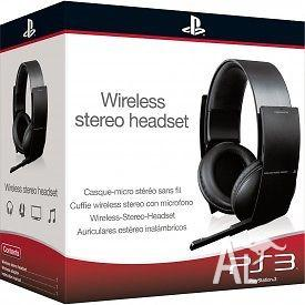 PS3 / PS4 WIRELESS STEREO HEADSET