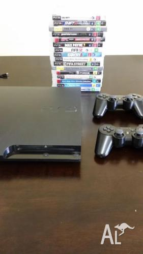 Ps3 Slim 320GB - Games BUNDLE