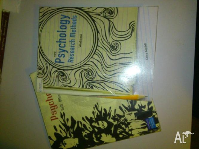Psychology Coursebook and Workbook for Sale
