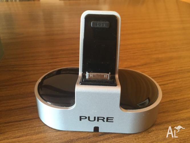 Pure i-20 iphone/ipod dock connector with digital to