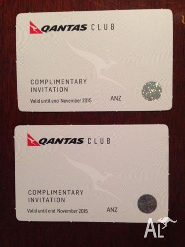 Qantas Club Guest Passes