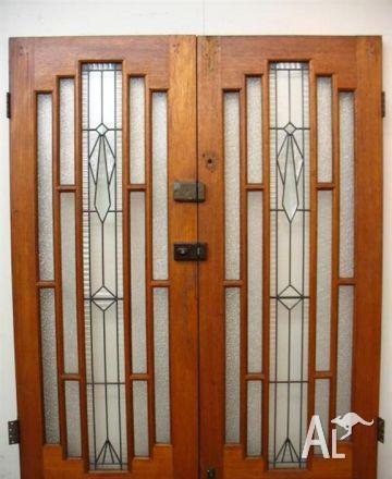 Quality Original Leadlight Doors