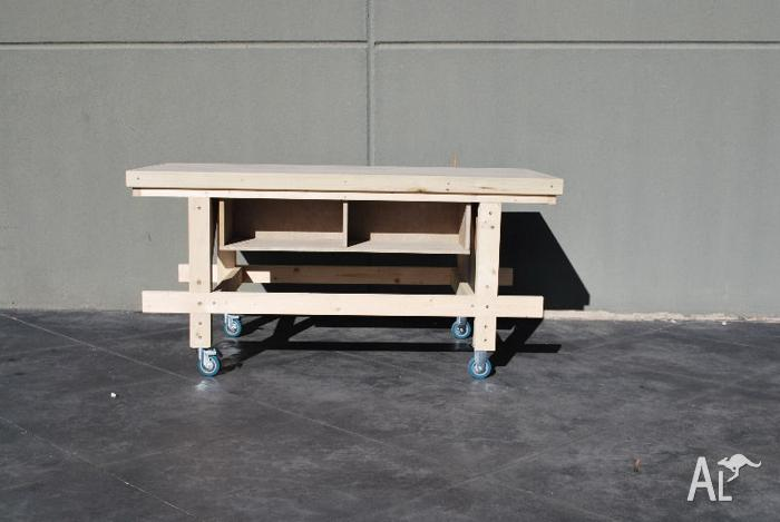 Quality Timber Work Bench - Brand New - Handmade
