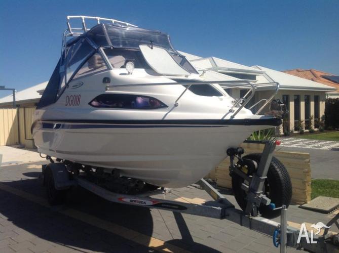 Half cabin boats for sale australia
