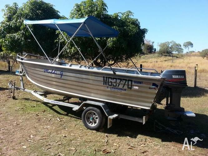 Quintrex 5.2mt King Hull Open Dory
