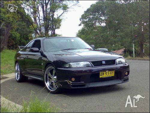 R33 Gtr Nissan Skyline Midnight Purple 96 For Sale In