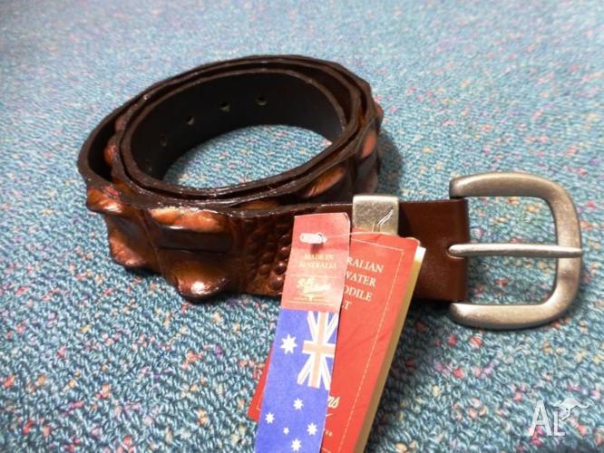 R.M.Willians crocodile belt