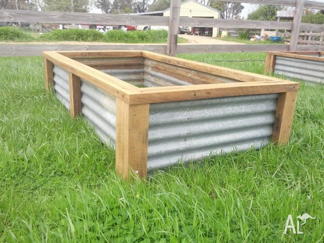 Image gallery for Raised vegetable garden bed planter box