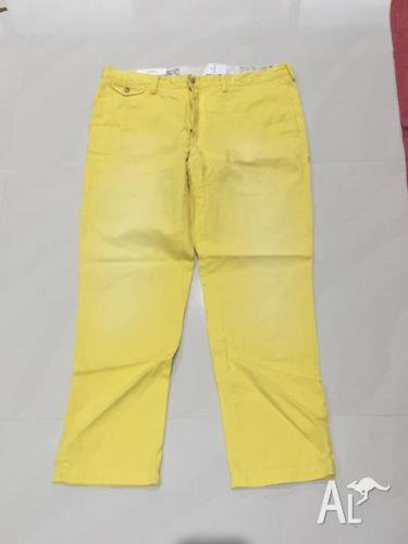 RALPH LAUREN POLO PANTS, 4 FOR $130, NEW, SIZE 36 ONLY,