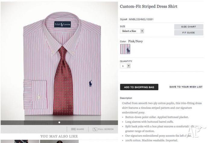 Ralph Lauren Shirts (Genuine - from RL Store)