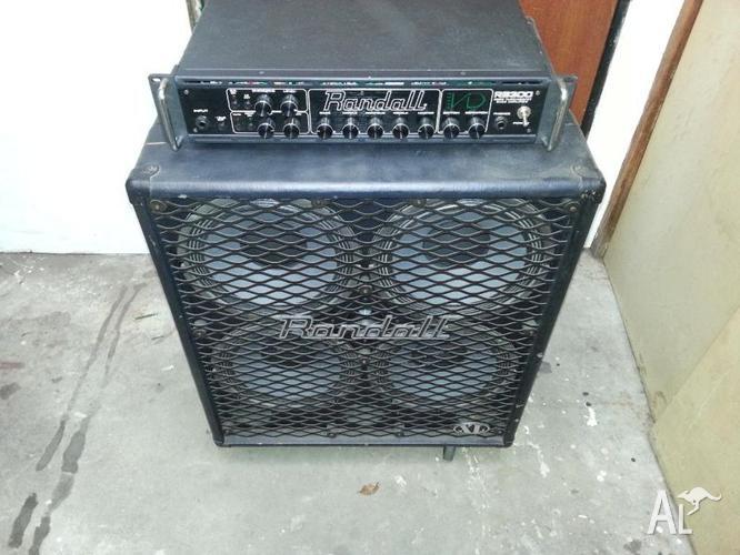 Randall bass amplifier
