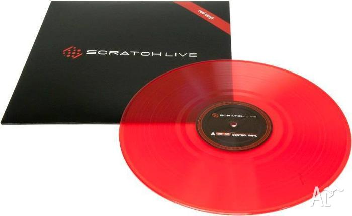 Rane DJ Serato Scratch Live Replacement Control Vinyl