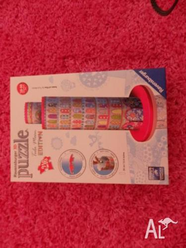RAVENSBURGER 3D PUZZLE TULA MOON TOWER OF PISA 216