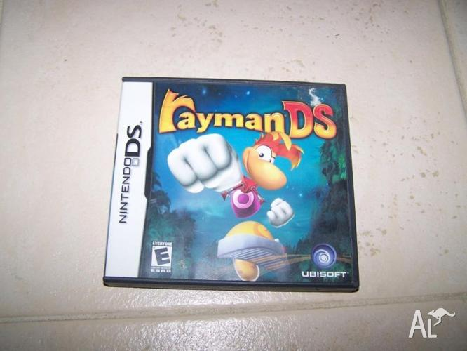 Rayman DS nintendo DS game