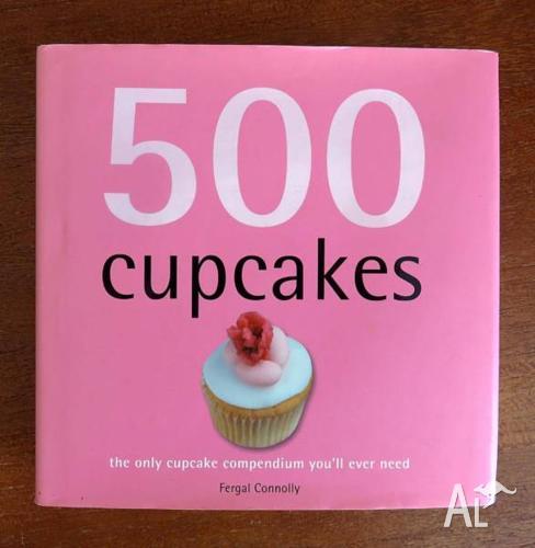 Recipe book - 500 cupcakes!