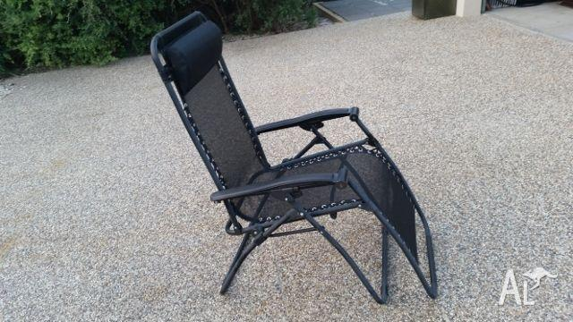 Reclining Fold Up Portable Outdoor Chair for Sale in RYE Victoria Classifi