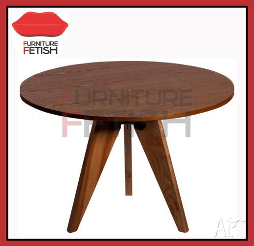 Replica Jean Prouve Gueridon Dining Table 120 Round