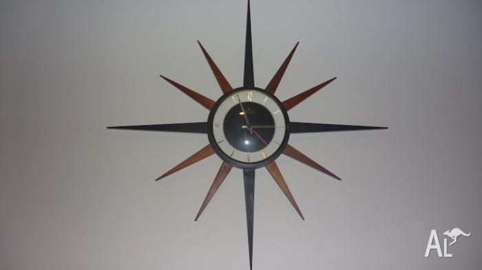 Retro Junghans Starburst Clock