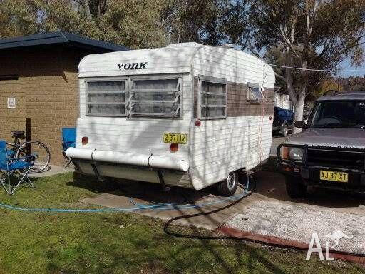 Retro York Caravan.