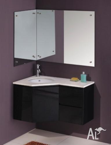 Rh lh corner vanity cabinet 39 vienna 39 for sale in for Bathrooms r us brisbane